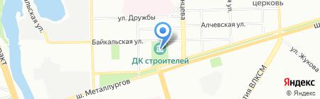 Сампогруз на карте Челябинска