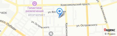 Управление гражданской защиты г. Челябинска на карте Челябинска
