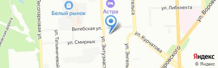 Средняя общеобразовательная школа №153 на карте Челябинска