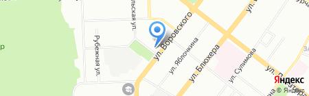 Медэм на карте Челябинска
