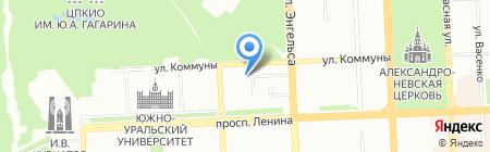 Эксперт 74 на карте Челябинска