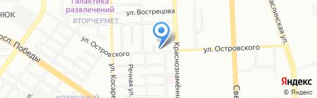 Новатор на карте Челябинска