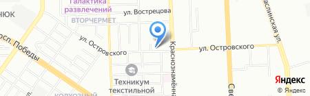 LotusWay на карте Челябинска