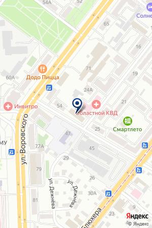 ФИРМА УРАЛКОСМОС на карте Челябинска