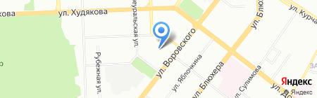 Turni4ok.ru на карте Челябинска