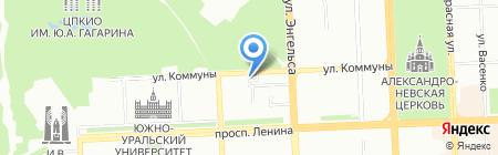Tez Tour на карте Челябинска