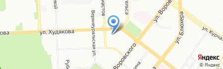 Актив Авто на карте Челябинска