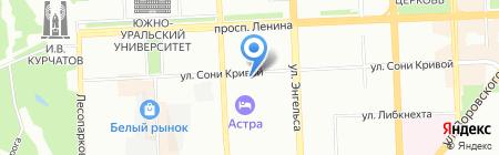 Эсперанто на карте Челябинска