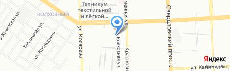 Профф-реал на карте Челябинска