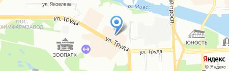 Мария на карте Челябинска