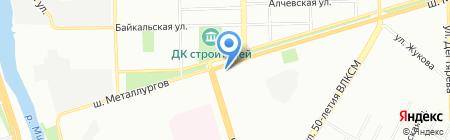 Тайм Аут на карте Челябинска