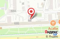 Схема проезда до компании Гц - Дизайн в Челябинске