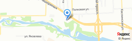 Знакомый компьютерщик на карте Челябинска