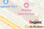 Схема проезда до компании Анатомия кухни в Челябинске