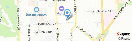 Общежитие на карте Челябинска