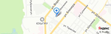 ПРИНТМЕД на карте Челябинска