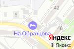 Схема проезда до компании Общежитие в Челябинске