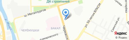 ТехИнвестСервис-Челябинск на карте Челябинска