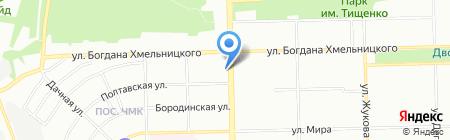 Махагон-Спб на карте Челябинска