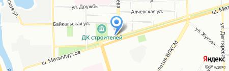 Жемчуг на карте Челябинска
