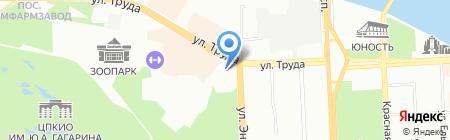 Radisson Blu Hotel на карте Челябинска