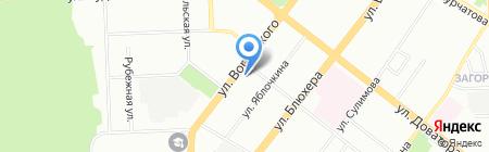 Детская библиотека №2 им. А.Б. Горской на карте Челябинска