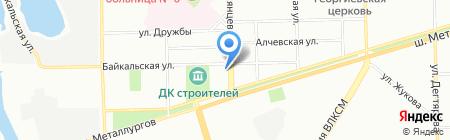 Радуга АНОО на карте Челябинска