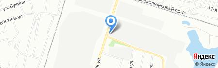 Силач на карте Челябинска