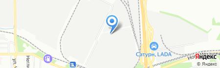 Радиатор и К на карте Челябинска