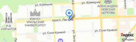 Платежный терминал БИНБАНК кредитные карты на карте Челябинска