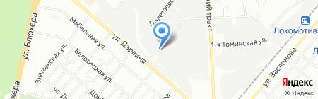 Строй Сервис на карте Челябинска