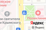 Схема проезда до компании Киоск по продаже бытовой химии в Челябинске
