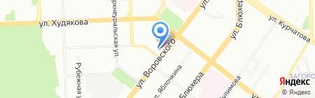 Ростелеком на карте Челябинска