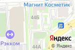 Схема проезда до компании АльфаСтрахование в Челябинске