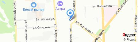 Натали турс на карте Челябинска