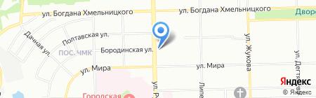 ГЕРАРТ-74 на карте Челябинска