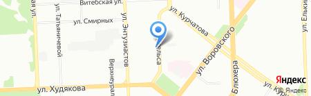 Для очень умелых рук на карте Челябинска