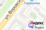 Схема проезда до компании Синема в Челябинске