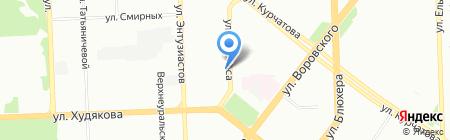 Дом.ru на карте Челябинска