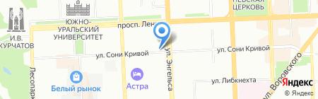 Ковчег на карте Челябинска
