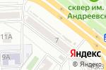 Схема проезда до компании Золотой Ключик в Челябинске