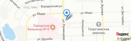 Мечта на карте Челябинска
