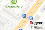 Схема проезда до компании Nissan в Челябинске