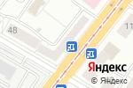 Схема проезда до компании Yokohama в Челябинске