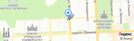 Большой мир на карте Челябинска