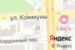 Схема проезда до компании АйСервис в Челябинске