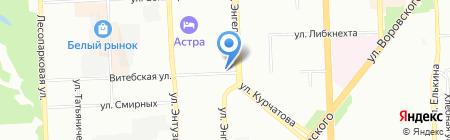 Компаньон на карте Челябинска