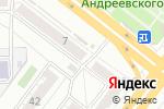 Схема проезда до компании Кыштымский трикотаж в Челябинске