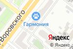 Схема проезда до компании Челябинская областная нотариальная палата в Челябинске