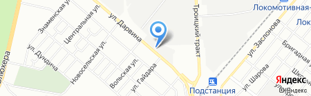 Челябпромметиз на карте Челябинска